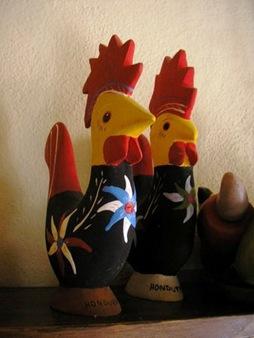gallos de souvenir