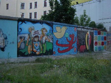 La historia del Muro de Berlin en fotos.