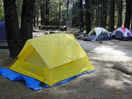 Camping sin rastros