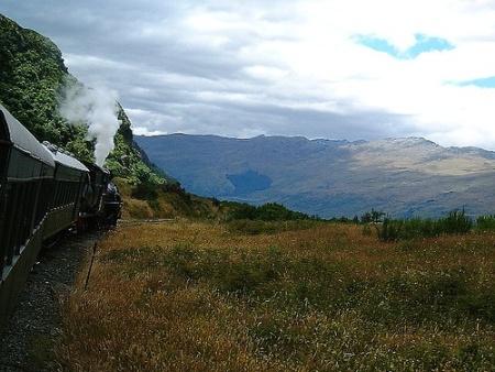 Nueva Zelanda en Tren