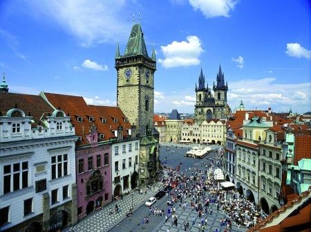 Plazoleta Casco Antiguo Praga