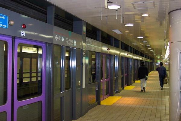 fotografía metro tokio 3 tren del metro de tokio