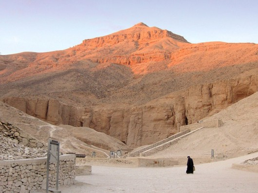 Resultado de imagen para El valle de los reyes en Egipto.