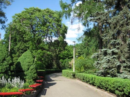 Los jardines bot nicos de kiev ser turista for Jardin botanico u de talca