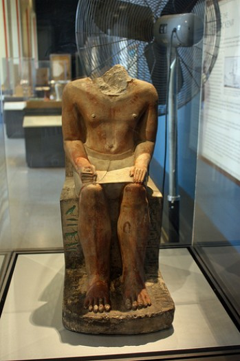 El Escriba Sekhem-ka. Museo de Brooklyn