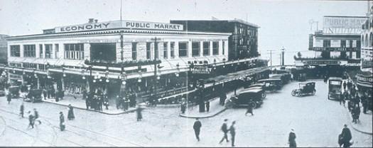 El mercado en 1910