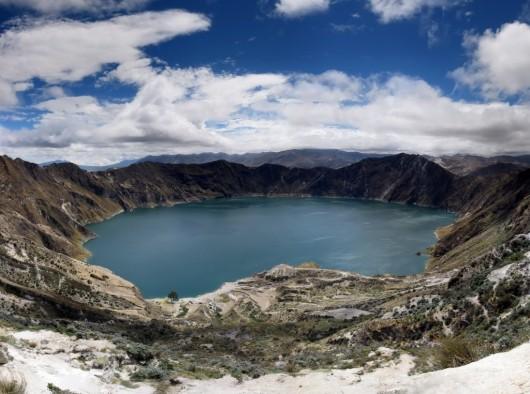 Circuito Quilotoa : Caminar alrededor de la laguna de quilotoa ser turista