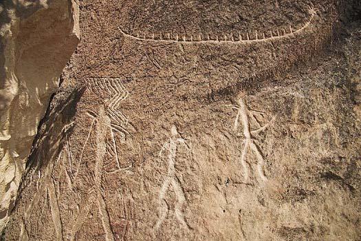 Los petroglifos de gobust n ser turista for Planimetrie della caverna dell uomo