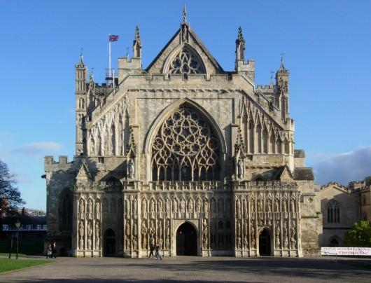 La g tica catedral de exeter ser turista for Arquitectura medieval