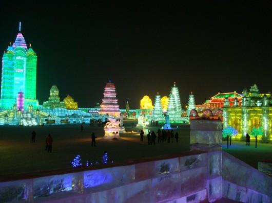 Festival del Hielo y la Nieve de Harbin 1