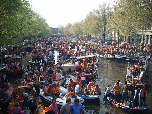 Fiesta Naranja de Holanda