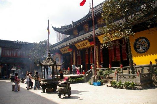 Templo del Buda de Jade 1