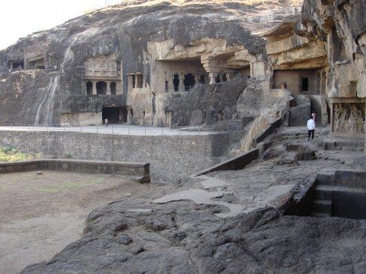 Cuevas Budistas en Ellora 1