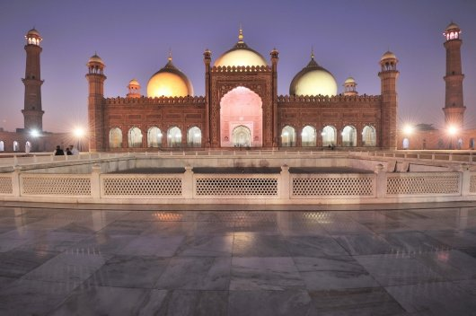 Mezquita Badshahi 1