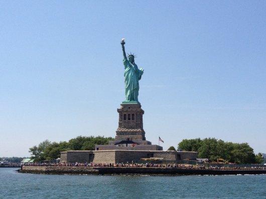 Reapertura Estatua de la Libertad 1