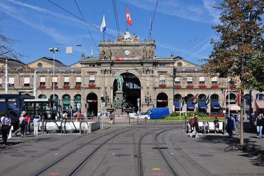 Estacion Central de Zurich 1