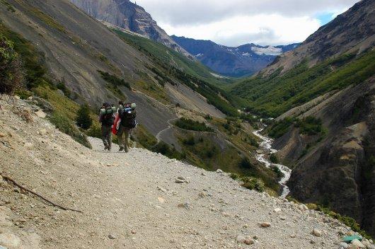 Excursionismo en Torres del Paine 5