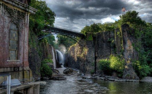 Grandes Cataratas del rio Passaic 2