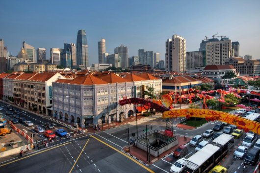Chinatown Singapur 1