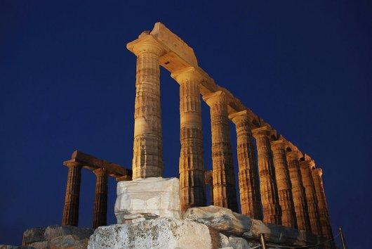 Templo de Poseidon en Sunion 3
