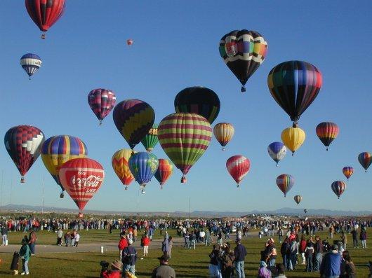 Festival de globos de Albuquerque 1