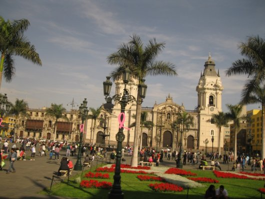 Plaza Mayor de Lima 1