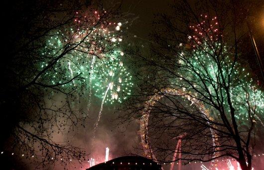 Año Nuevo Londres 1