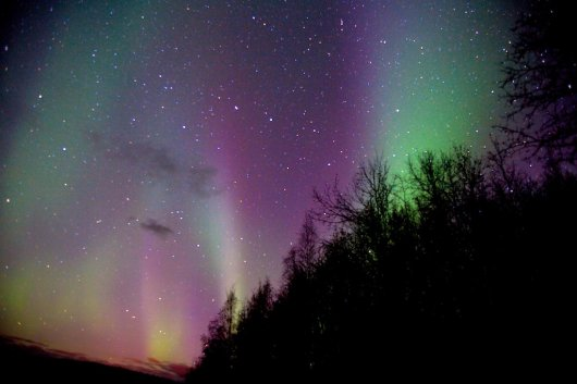 Aurora Boreal en Fairbanks 1