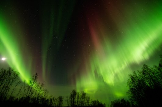 Aurora Boreal en Fairbanks 2