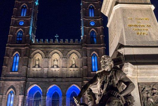 Basilica de Notre Dame de Montreal 1